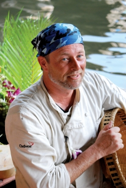 "Evansville native Terry French, winner of the second season of ""Extreme Chef,"" took what he learned on the show to heart. His wild catering business, Culinary Dreams, delivers to clients in forests, caves, and even on cliff sides."